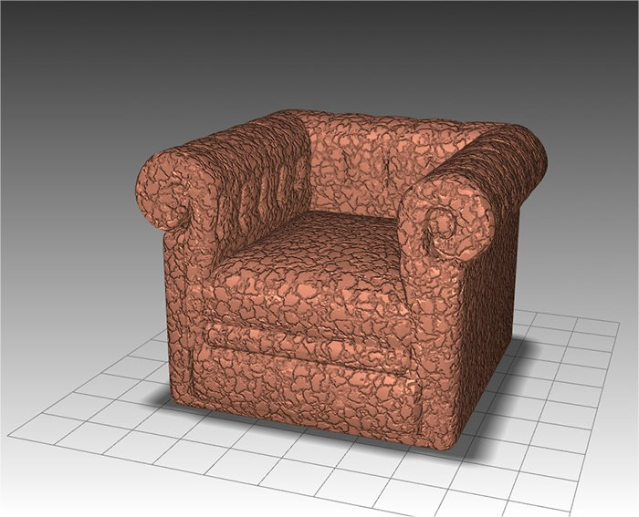 Application for designing armchair